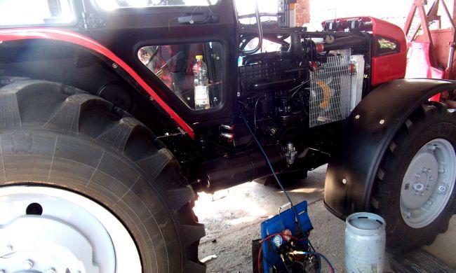 MTZ traktorok klimatizálása